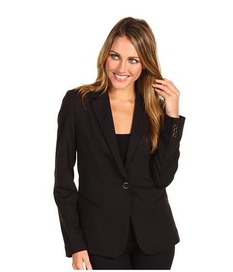 Sacouri Calvin Klein - Seamed Ponte Jacket - Black