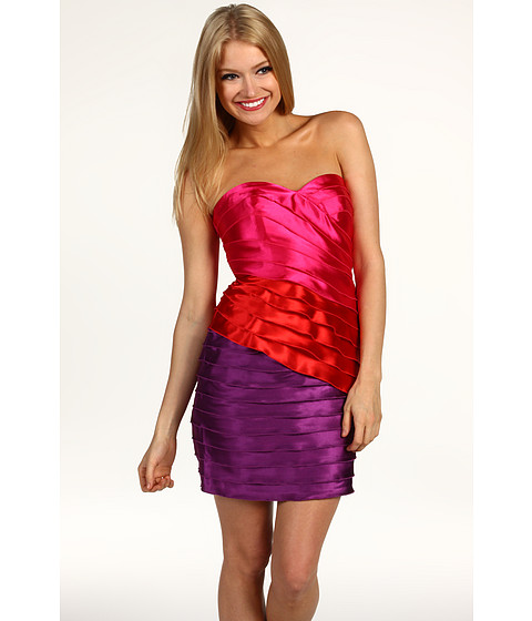 Rochii Max and Cleo - Colorblocked Ariel Dress - Cosmic Pink