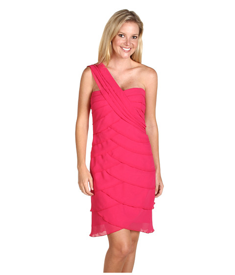 Rochii Max and Cleo - One-Shoulder Lynn Dress - Cosmic Pink