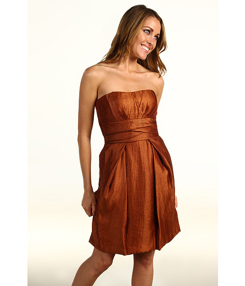 Rochii Max and Cleo - Strapless Seamed Dress - Whiskey
