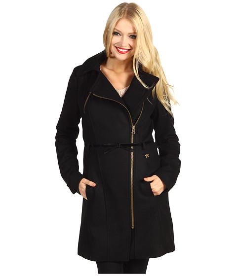 Jachete DEPT - Long Caban Coat - Black