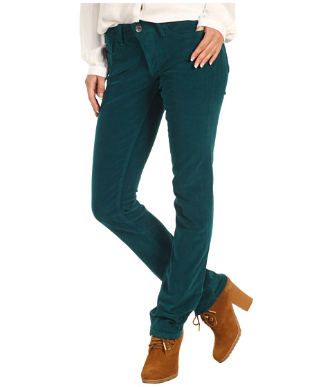 Pantaloni Lucky Brand - Sweet N\ Straight Cord - Satin Peacock