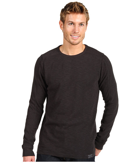 Tricouri Calvin Klein - Textured Knit L/S Crew - Phantom