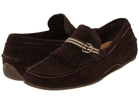 Pantofi Sperry Top-Sider - Atlas Driver Kiltie - Dark Brown Suede