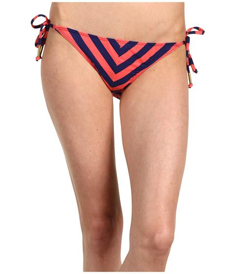 Costume de baie Ella Moss - Calypso Stripe Tie Side Pant - Coral