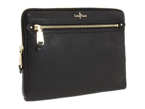 Genti de mana Cole Haan - Linley Tablet Zip Around - Black