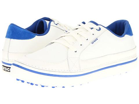 Adidasi Crocs - Bradyn - White/Sea Blue