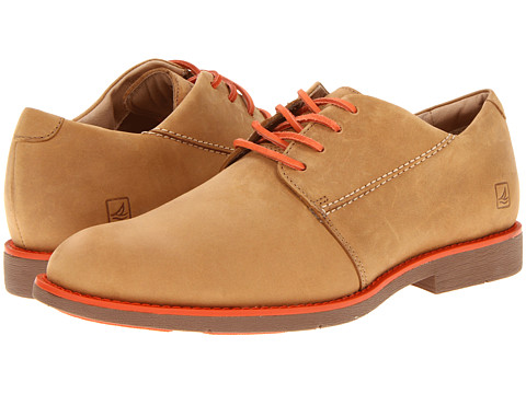 Pantofi Sperry Top-Sider - Jamestown Oxford Plain Toe - Sahara/Orange