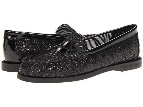 Pantofi Sperry Top-Sider - Hayden - Black Glitter/Patent