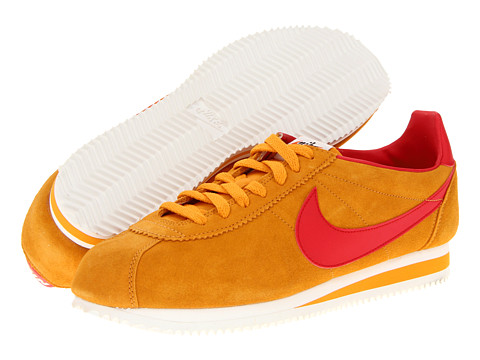Adidasi Nike - Classic Cortez SE (Vintage) - Canyon Gold/Sail/University Red