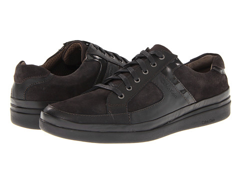 Adidasi Calvin Klein - Vance - Dark Charcoal Action Leather