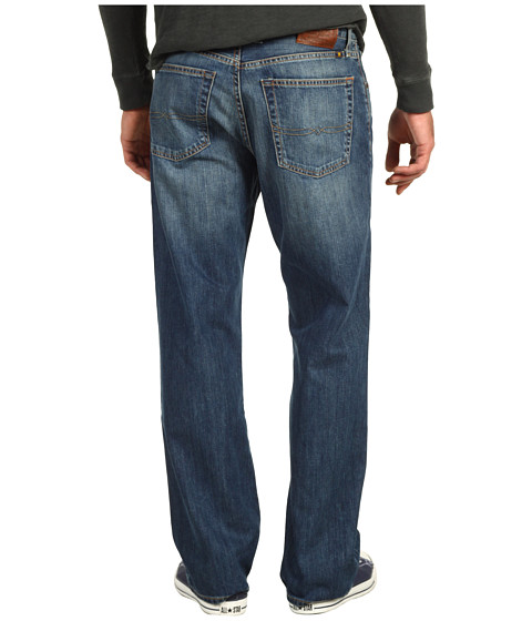 "Blugi Lucky Brand - 181 Relaxed Straight 30"" in Medium Clarksville - Medium Clarksville"