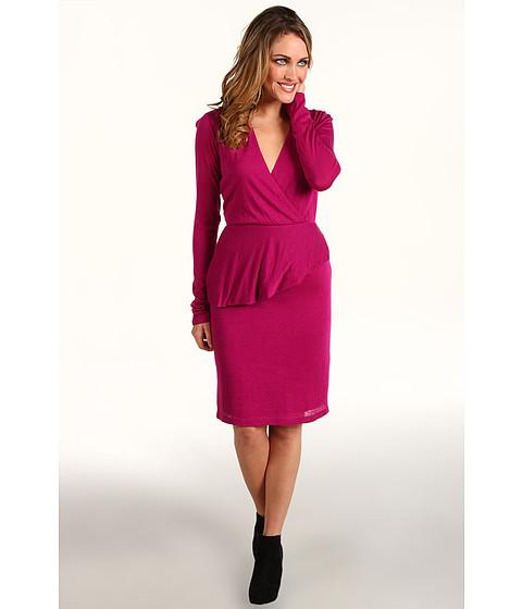 Rochii Kenneth Cole - Peplum Knit Dress - Bright Fuchsia