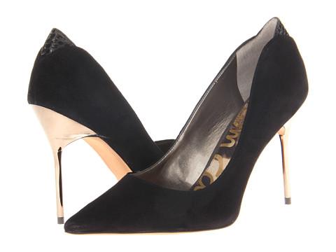 Pantofi Sam Edelman - Danielle - Black Suede