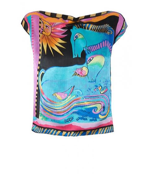 Bluze Get A Dress - Top Horses - Negru cu imprimeu