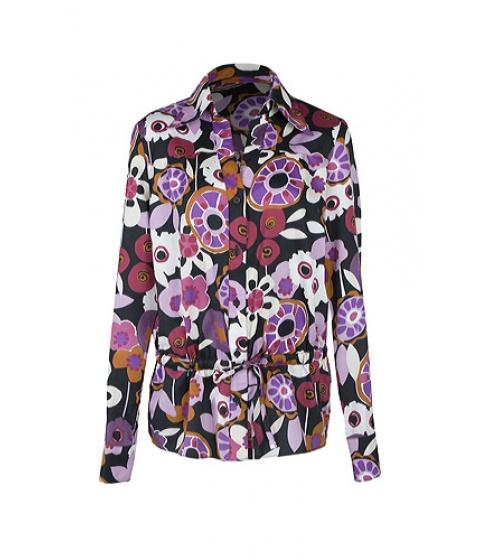 Camasi Elka Style - Camasa cu imprimeu floral - Negru cu imprimeu floral