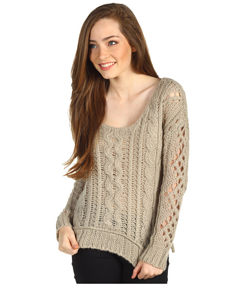 Bluze Free People - Fluff Pullover Sweater - Oatmeal
