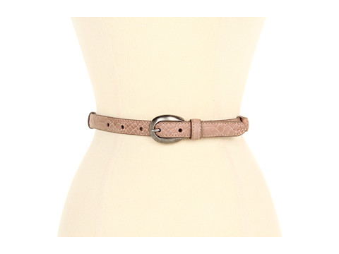 Curele Lodis Accessories - Saint Germain Adjustable Oval Buckle Pant - Almond