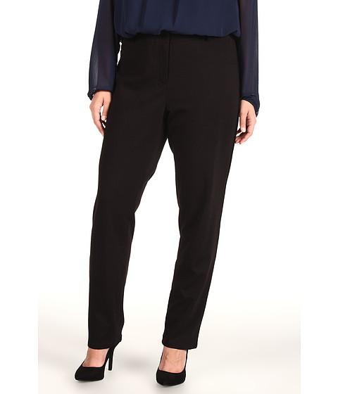 Pantaloni DKNY - Plus Size Ponte 4 Pocket Skinny Jean - Black