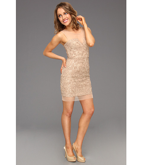 Rochii BCBGMAXAZRIA - Abigail Evening Dress - Champagne