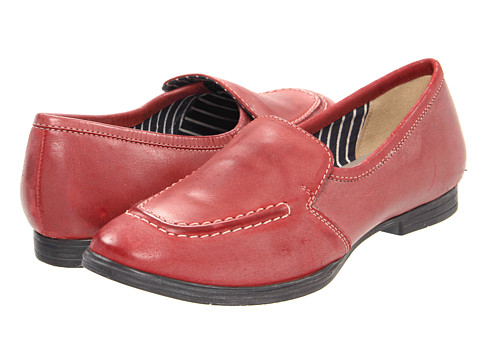 Balerini Hush Puppies - Vintage - Dark Red Leather