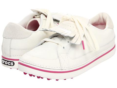 Adidasi Crocs - Bradyn - White Fuchsia