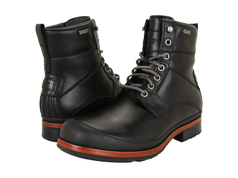 Ghete UGG - Howell - Black Leather