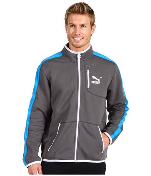 Jachete PUMA - Better Fleece T7 Jacket - Dark Shadow/Dresden Blue