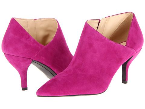 Pantofi GUESS - Glori - Dark Pink Suede