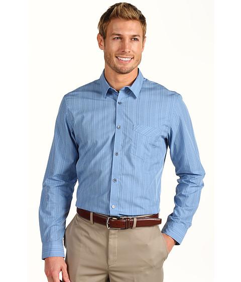 Tricouri Calvin Klein - L/S Fine Plaid Poplin - Placid Blue