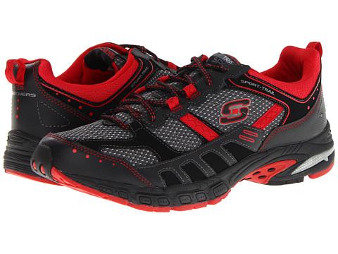 Adidasi SKECHERS - Equilibrium - Black/Red