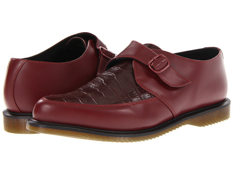 Pantofi Dr. Martens - Ashland Monk Shoe - Cherry Red