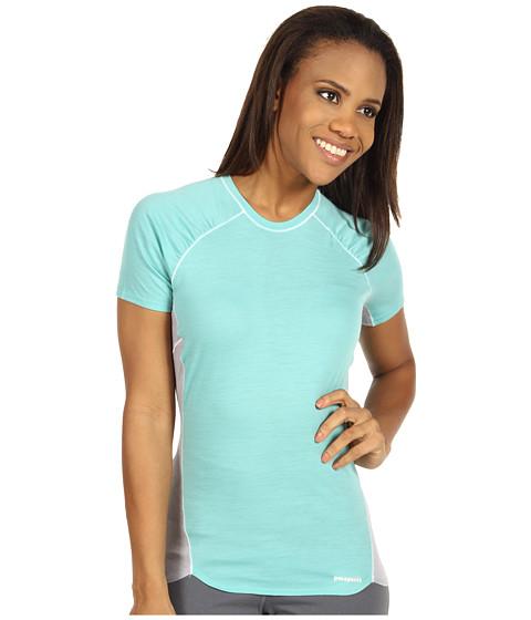 Tricouri Patagonia - Merino 2 Light Weight T-Shirt - Nile Blue