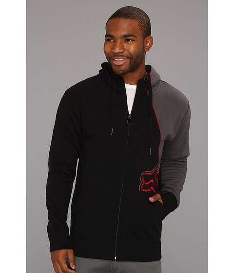 Bluze Fox - RPM Zip Front Fleece - Red