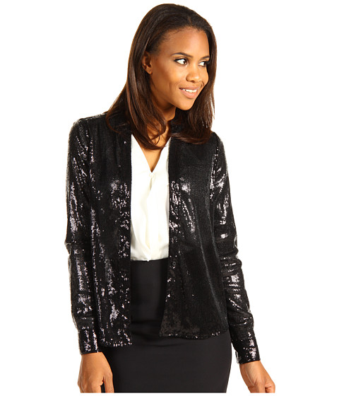 Bluze Calvin Klein - Sequin Blouse - Black