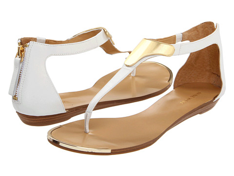 Sandale Nine West - WeWantIt - White Leather