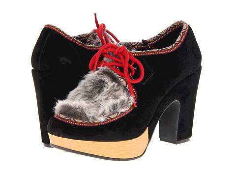 Pantofi Rocket Dog - Abrielle - Black Double Face/Rocky Faux Fur