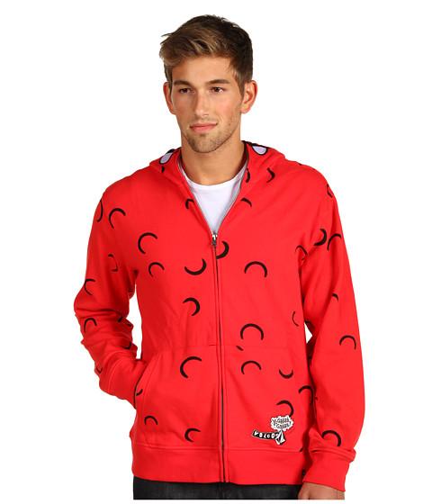 Bluze Volcom - YoGabba Full-Zip Hoodie - Red