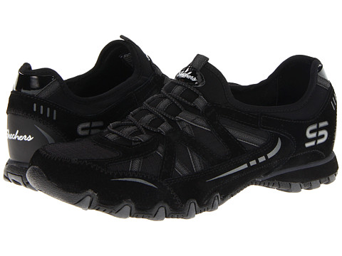 Adidasi SKECHERS - Bikers - Equation - Black/Charcoal