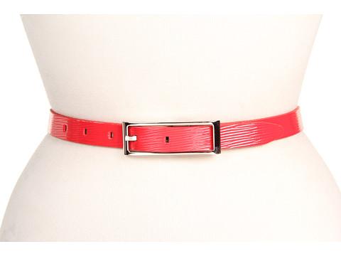 "Curele Calvin Klein - Calvin Klein 3/4\"" Ctrbar W/Logo Backplate - Red"