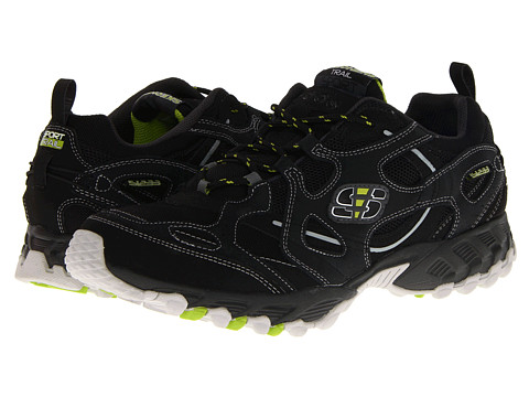 Adidasi SKECHERS - Spider - Black/Lime