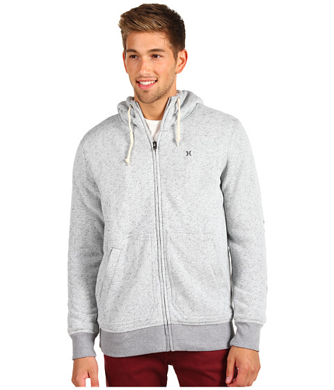 Bluze Hurley - Retreat Sherpa Hoodie - Heather Ash Grey