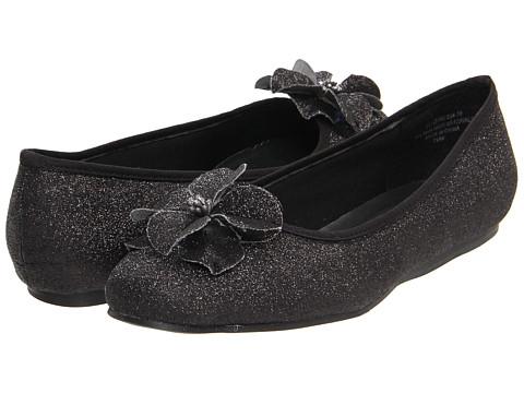 Balerini Annie - Jill - Black Glitter/Grosgrain