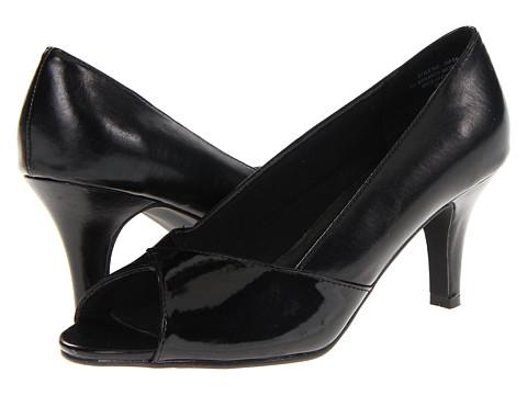 Pantofi Annie - Gemma - Black/Black Pat