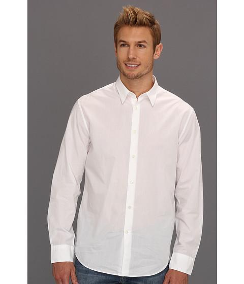 Camasi John Varvatos - Pickstitched Classic Fit Shirt - White