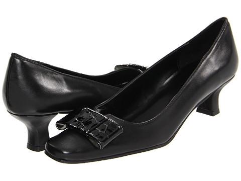 Pantofi Vaneli - Rubina - Black Nappa/Black Karnak