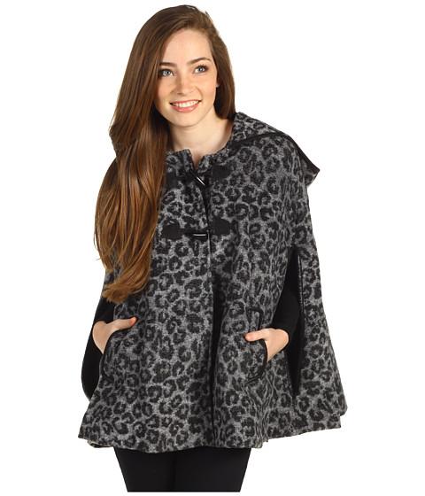 Jachete Jessica Simpson - Leopard Capelet - Grey/Black