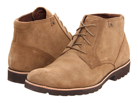 Ghete Rockport - Ledge Hill Boot - Vicuna Suede