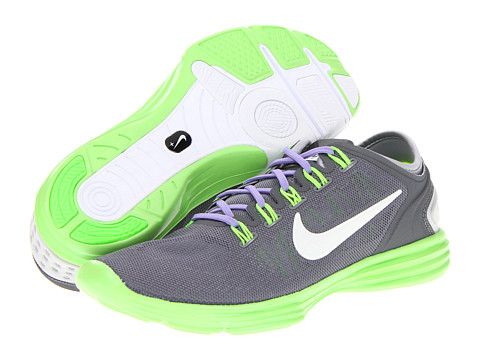 Adidasi Nike - Lunar Hyperworkout XT+ - Cool Grey/Pure Platinum/Electric Green/White