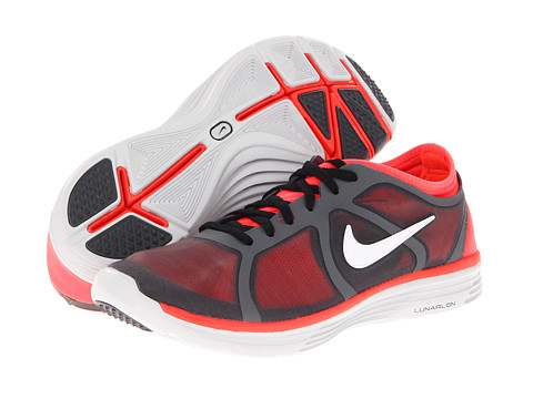 Adidasi Nike - Lunarbase Trainer - Dark Grey/Bright Crimson/Neutral Grey/White